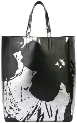 Calvin Klein printed tote bag