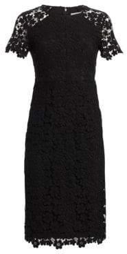 Shoshanna Beaux Guipure Lace Sheath Dress