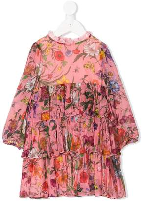 Gucci Kids Baby mini Flora chiffon dress
