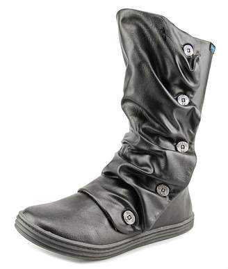 Blowfish Rammish Women US 6.5 Black Mid Calf Boot