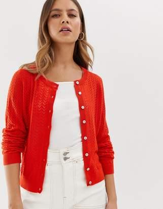 Pimkie lightweight cardigan in red