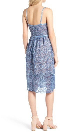Women's Devlin Eloise Embroidered Lace Slipdress 2