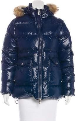 Pyrenex Fur-Trimmed Puffer Jacket