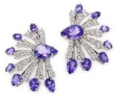 Hueb Mirage Diamond& Tanzanite Earrings