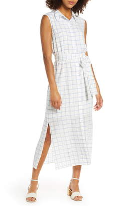 Charles Henry Belted Shirtdress