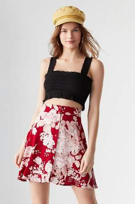 Urban Outfitters Rolla's Rolla's X Flouce Button-Down Skirt