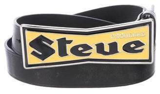 DSQUARED2 Steve Leather Belt