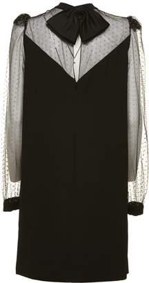 Givenchy Studded Bow Back Shift Dress