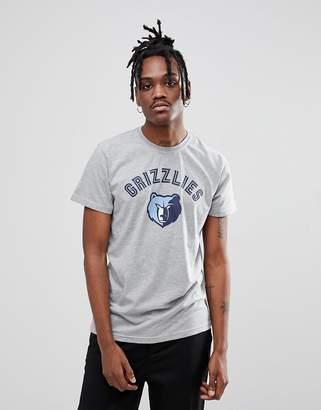 New Era NBA Memphis Grizzlies T-Shirt In Gray