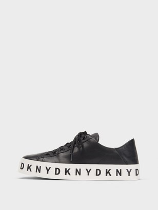 DKNY Banson Leather Sneaker