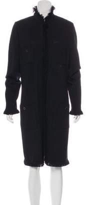 St. John Knit Knee-Length Coat