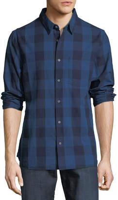 Joe's Jeans Sanchez Buffalo-Plaid Button-Front Shirt