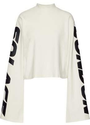 SOLACE London Printed Jersey Sweatshirt