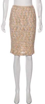 Missoni Patterned Pencil Skirt