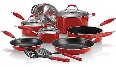 JCPenney cooks Nonstick 12-pc. Cookware Set