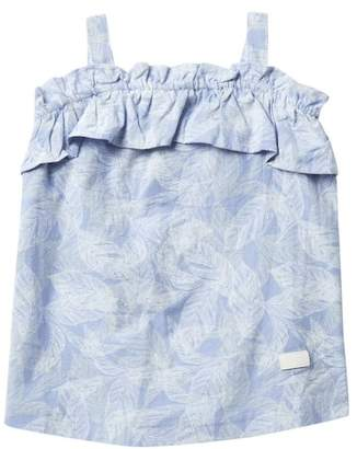 7 For All Mankind Ruffle Top (Little Girls)