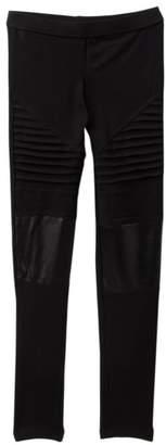 Moto Harper Canyon Faux Leather Leggings (Big Girls)