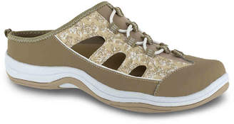 Easy Street Shoes Barbara Slip-On Sneaker -White/Multicolor Floral - Women's