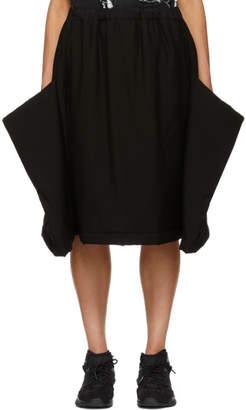 Comme des Garcons Black Extended Side Skirt