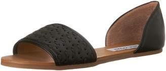 Steve Madden Women's Taylerr Peep Toe Flat