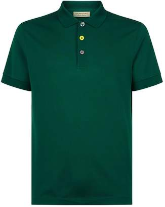 Burberry Painted Button Polo Shirt