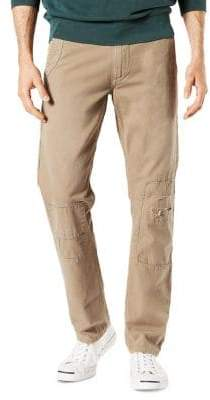 Dockers Slim-Fit Alpha Rip and Repair Cotton Pants