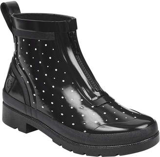 Tretorn Lina Zip Dotted Rubber Rain Boots