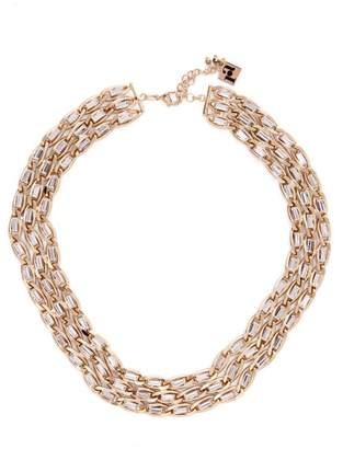 Rosantica By Michela Panero - Crystal Embellished Necklace - Womens - Gold