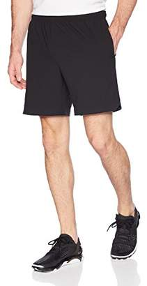 """Lacoste Men's 7"""" Unlined Woven Short with Reflect Croc"""