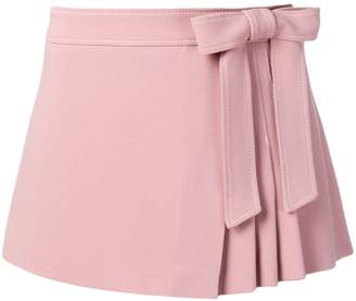 RED Valentino pleated front style shorts