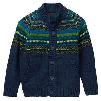 Tea Collection Crosbie Zip Cardigan (Toddler, Little Boys, & Big Boys)