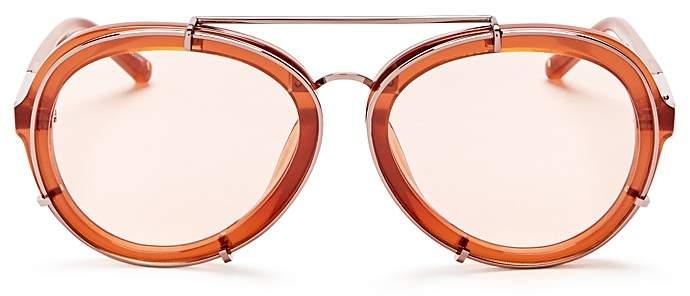 3.1 Phillip Lim3.1 Phillip Lim Aviator Sunglasses, 60mm