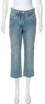Alexander Wang Mid-Rise Crop Jeans
