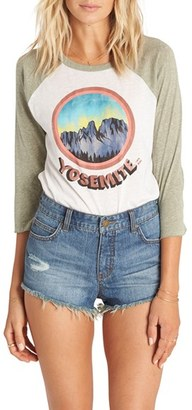 Billabong 'Highway' Distressed Denim Shorts (Salt Crystal White) $49.95 thestylecure.com