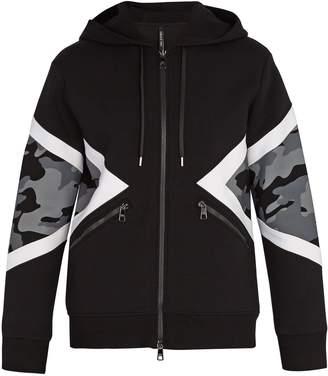 Neil Barrett Camouflage hooded sweatshirt