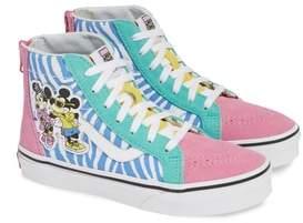 Vans x Disney Mickey Mouse SK8-Hi Zip Sneaker