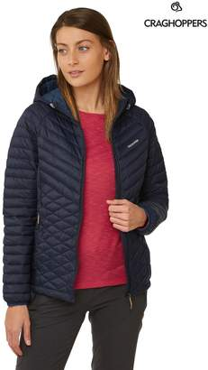 Craghoppers Womens Expolite Hooded Jacket - Blue