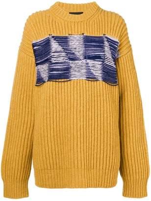 Calvin Klein open knit sweater