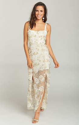 Show Me Your Mumu Celestial Dress ~ Precious Petals Lace