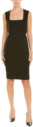 Akris Wool-Blend Sheath Dress