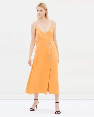 CHRISTOPHER ESBER Tie Back Resin Split Dress