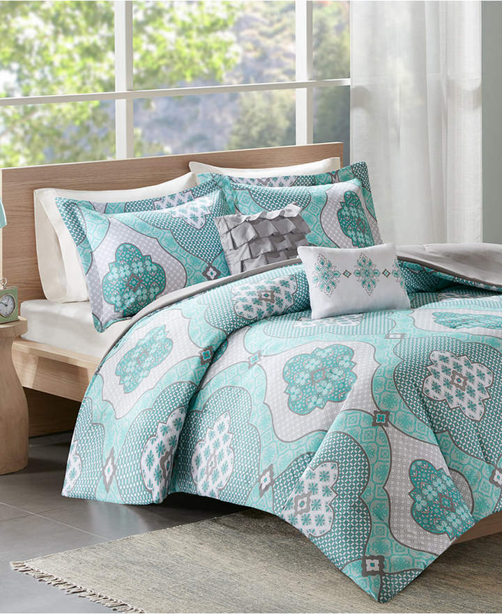 Intelligent Design Claudine Reversible Twin/Twin Xl 4-Pc. Comforter Set Bedding
