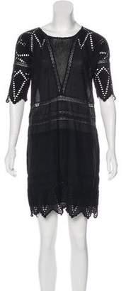 Ulla Johnson Sheer Cotton Shift Dress
