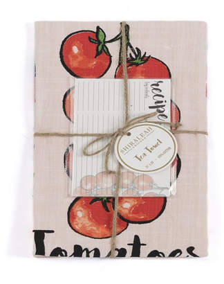 Shiraleah Tomato Tea Towel Set