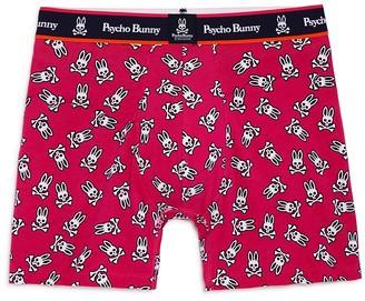 Psycho Bunny Logo Print Knit Boxer Briefs $23.50 thestylecure.com