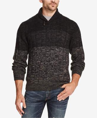 Weatherproof Vintage Men's Ombre Shawl-Neck Sweater