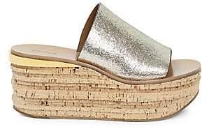 323e8a7e79c Chloé Women s Camille Leather Platform Sandals