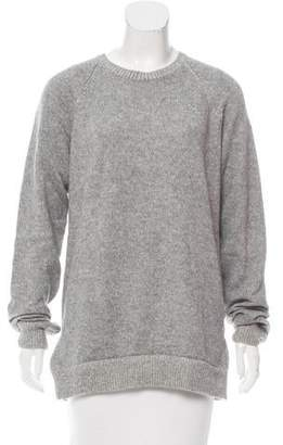 Donni Charm Wool-Blend Crew Neck Sweater