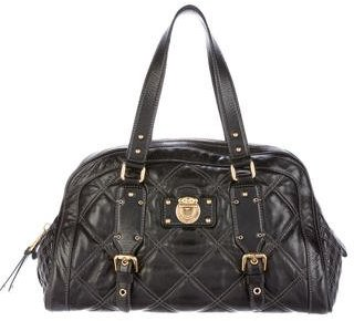 Marc Jacobs Marc Jacobs Quilted Leather Shoulder Bag