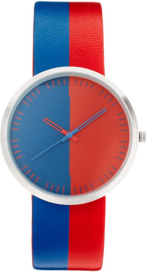 Asos Split Color Strap Watch